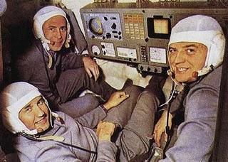 Estos son los 3 astronautas que murieron y fueron encontrados con una sonrisa en su rostro.